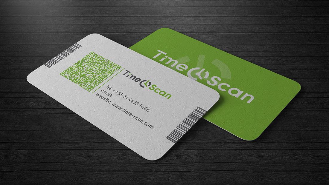 Vaelostudio Ltd. | Time Scan Business Cards